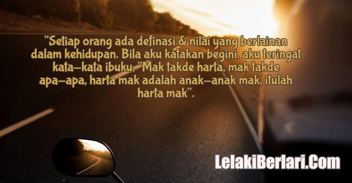 Diari 207 : Ramadhan Series – Definasi & Nilai Kehidupan Itu Bagi Aku..